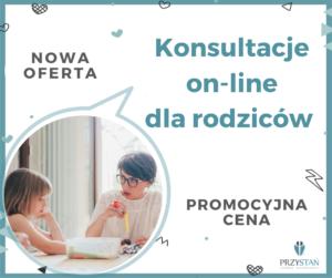 przycisk do oferty konsultacji dla rodziców