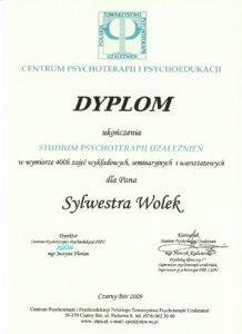 Psycholog dyplom studium