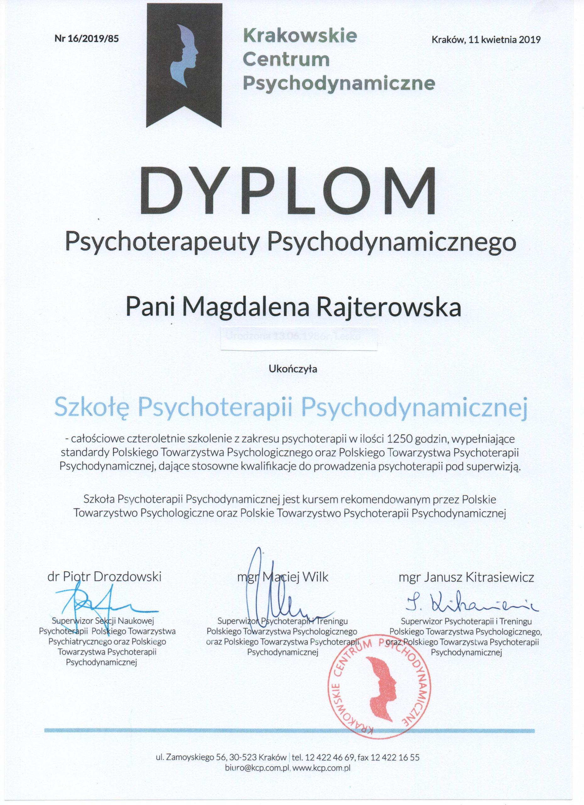 Szkoła Psychoterapii Psychodynamicznej