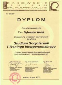 Socjoterapeuta dyplom