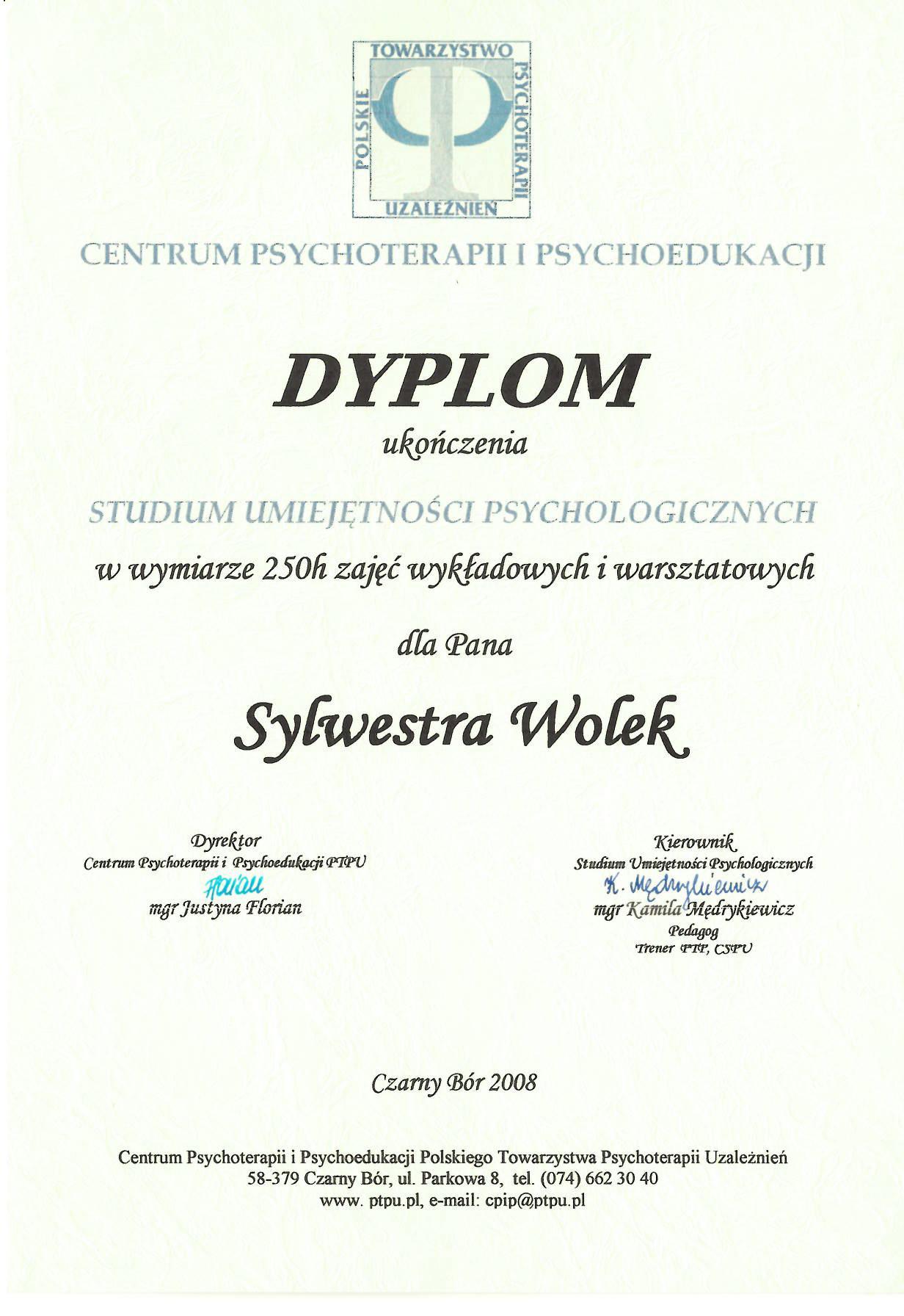 Studium Umiejętności Psychologicznych