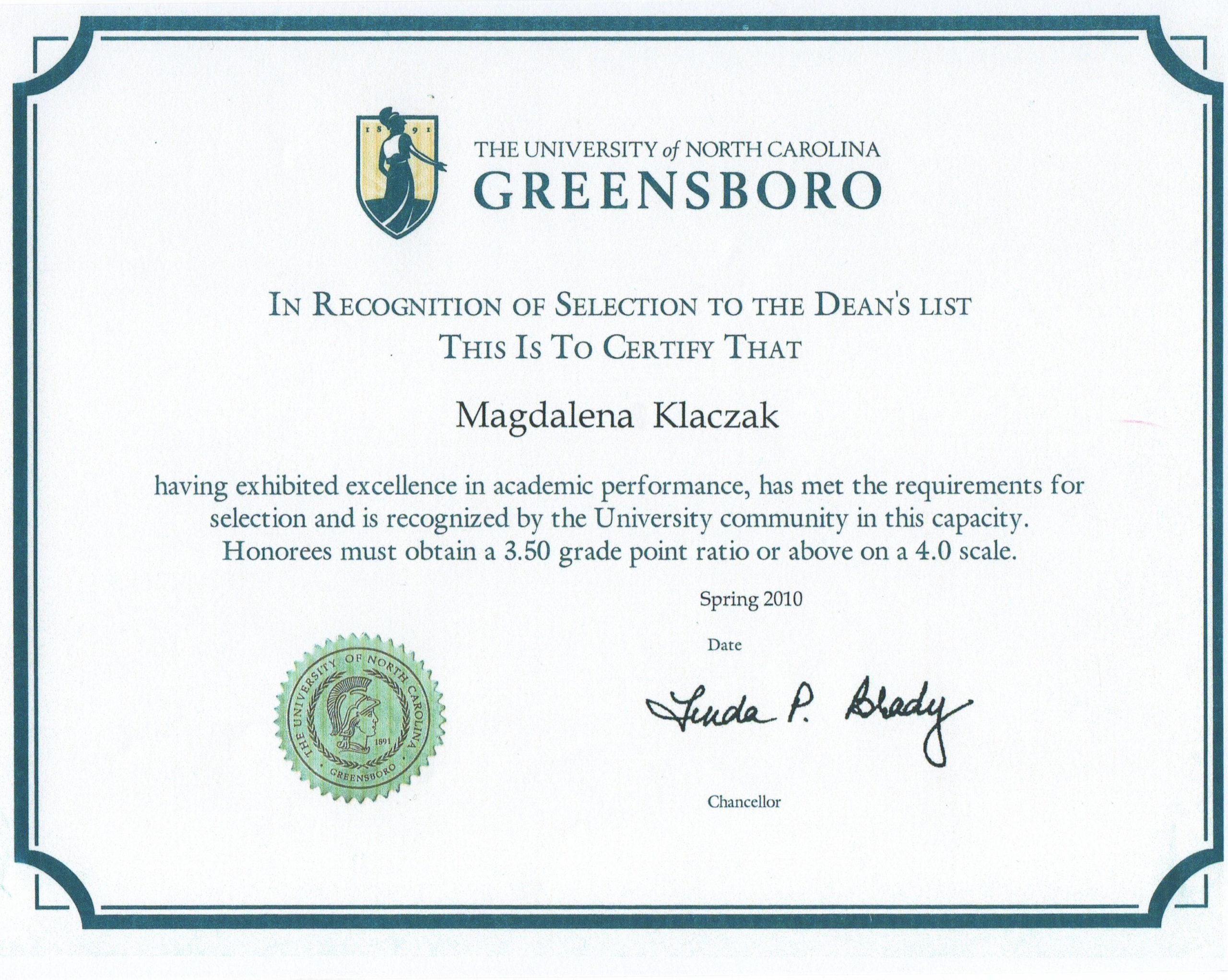 Uniwersytet Greensboro