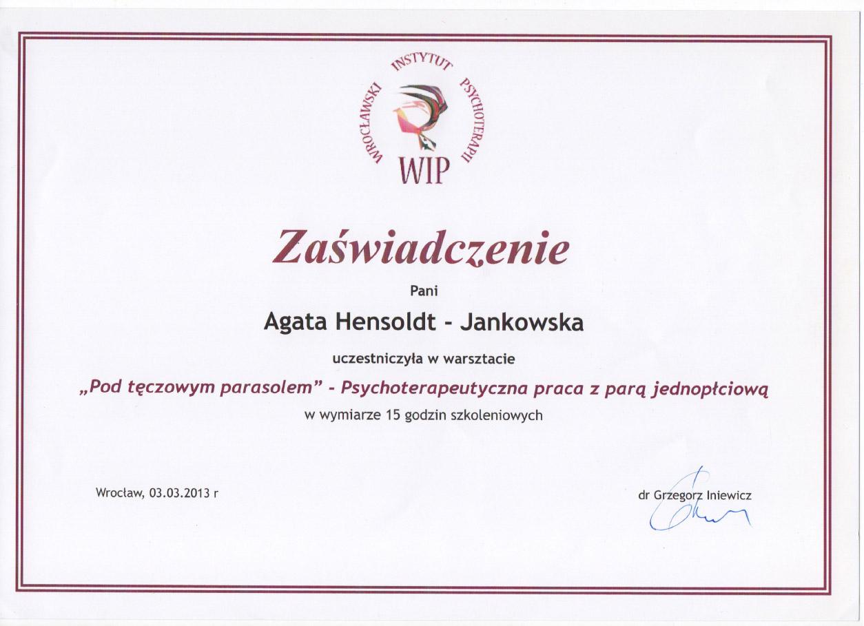 Psychoterapeutyczna praca z parą jednopłciową