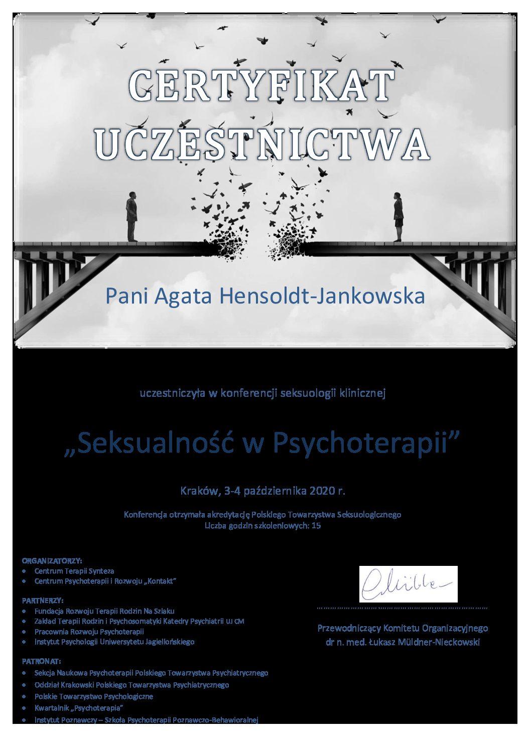 Seksualność w psychoterapii